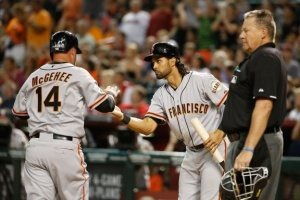 Casey McGehee and Angel Pagan