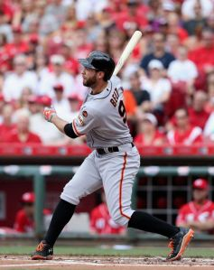 Brandon Belt hit 3 back-to-back HRs