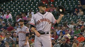 Heston pitched a gem Tuesday--his 1st complete game in the majors.