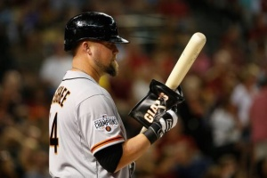 Casey McGehee--have the Giants fans given him a chance to show us what he can do?