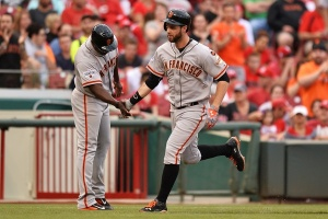 I vote for Brandon Belt to hit a HR in every game--who's with me?