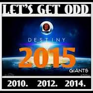 The Giants new catchphrase  #letsgetODD