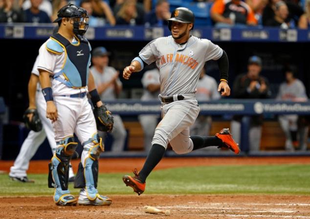 Giants Rays Baseball